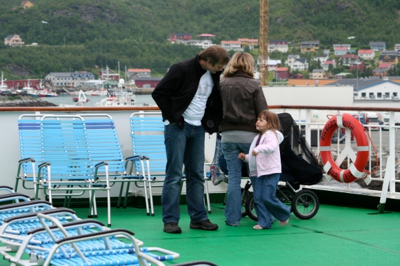 Hurtygruten, from Honnigsvåg to Tromsø, Norway 2009.