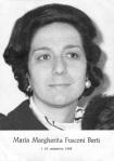 Maria Margherita Fusconi Berti, Bologna 1929, Forlì 15 settembre 1968