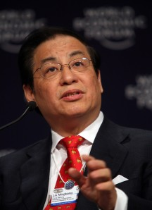 Liu Mingkang - Annual Meeting of the New Champions Tianjin