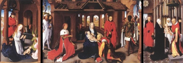 Hans-Memling-Adoration-of-the-Magi-Whole-Triptych